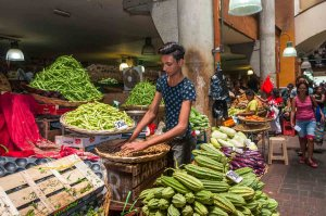 Tržnica v Port Luisu