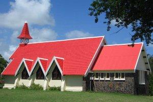 Na Mauritiusu je tudi nekaj krščanskih cerkva.