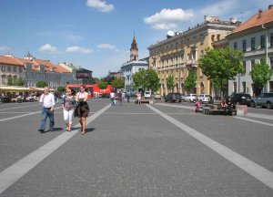 V Vilni vabijo privlačna območja, rezervirana za pešce.