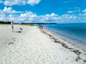 Privlačne peščene obale.