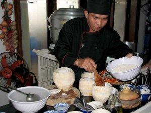 Na tečaju pri kuharskem mojstru