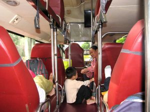 Nekateri avtobusi se ponašajo s posteljami