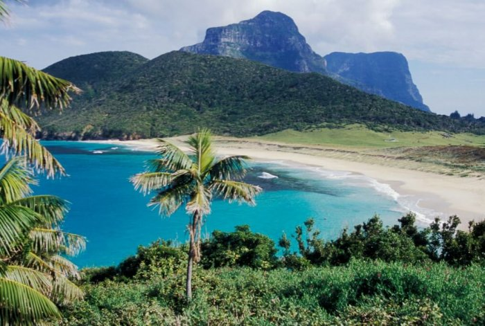 Blinky Beach, Lord Howe Island (foto: Alamy)
