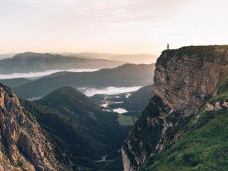 Pohodništvo v triglavskem narodnem parku (foto: Eeva Makinen, STO)