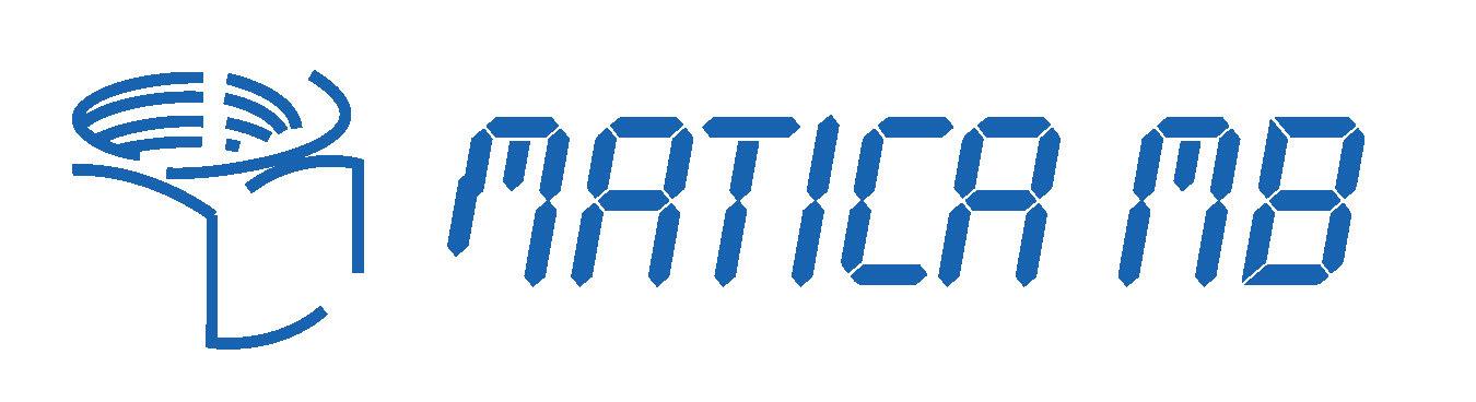 logotip matica MB moder