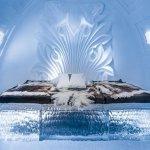 Ledeni hotel na Švedskem z umetniškimi apartmaji