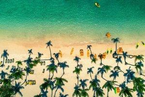 Plaža Punta Cana v Dominikanski republiki. Foto: Valentin Valkov