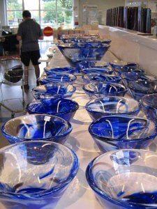 Švedi so ponosni na steklarske umetnije.