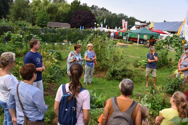 Delavnica Permkulturni vrt na AGRA 2017