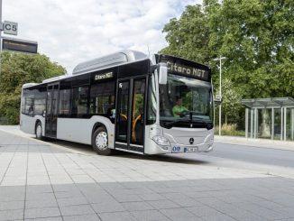 Vorschau; Busworld; Kortrijk; Mercedes-Benz; Citaro NGT (Vir: MOL)