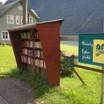 Majhna in odmaknjena norveška vasica je raj za ljubitelje knjig
