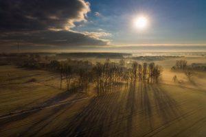 """""""A frosty morning, Krzeczyn Wielki, Poland"""", Dron Expert"""