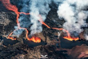 """Les 3 volcans"", DroneCopters"