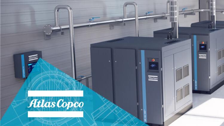 Kompresorji Atlas Copco - energetsko učinkoviti, varni in zanesljivi