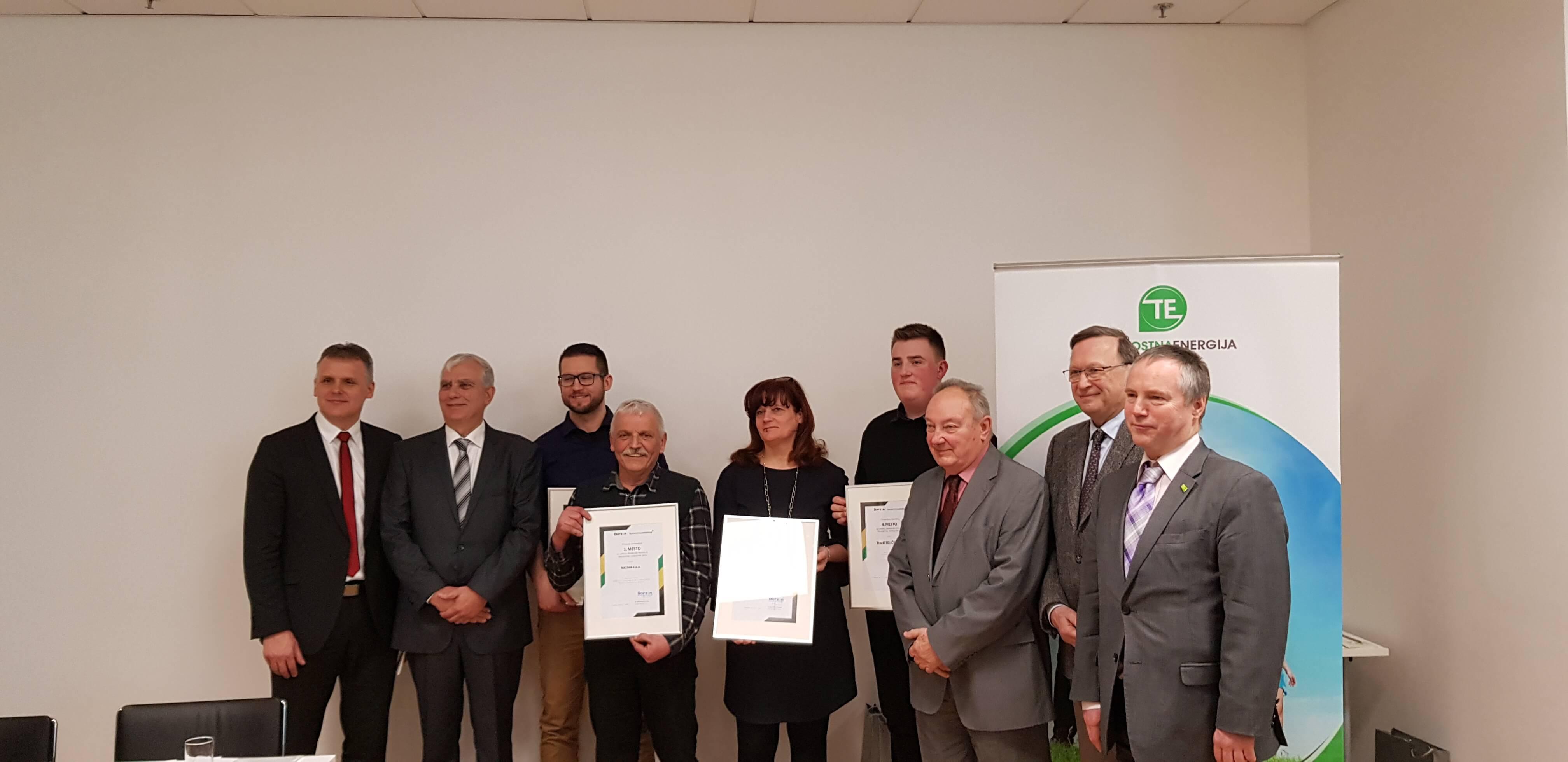Nagrada za najboljšo inovacijo trajnostne energetike v roke družbi RIKEMA