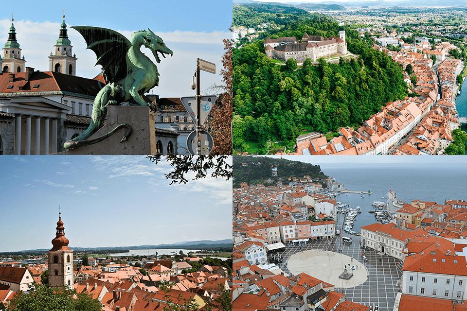 4 slovenska mesta v drugi krog za naziv Evropska prestolnica kulture 2025