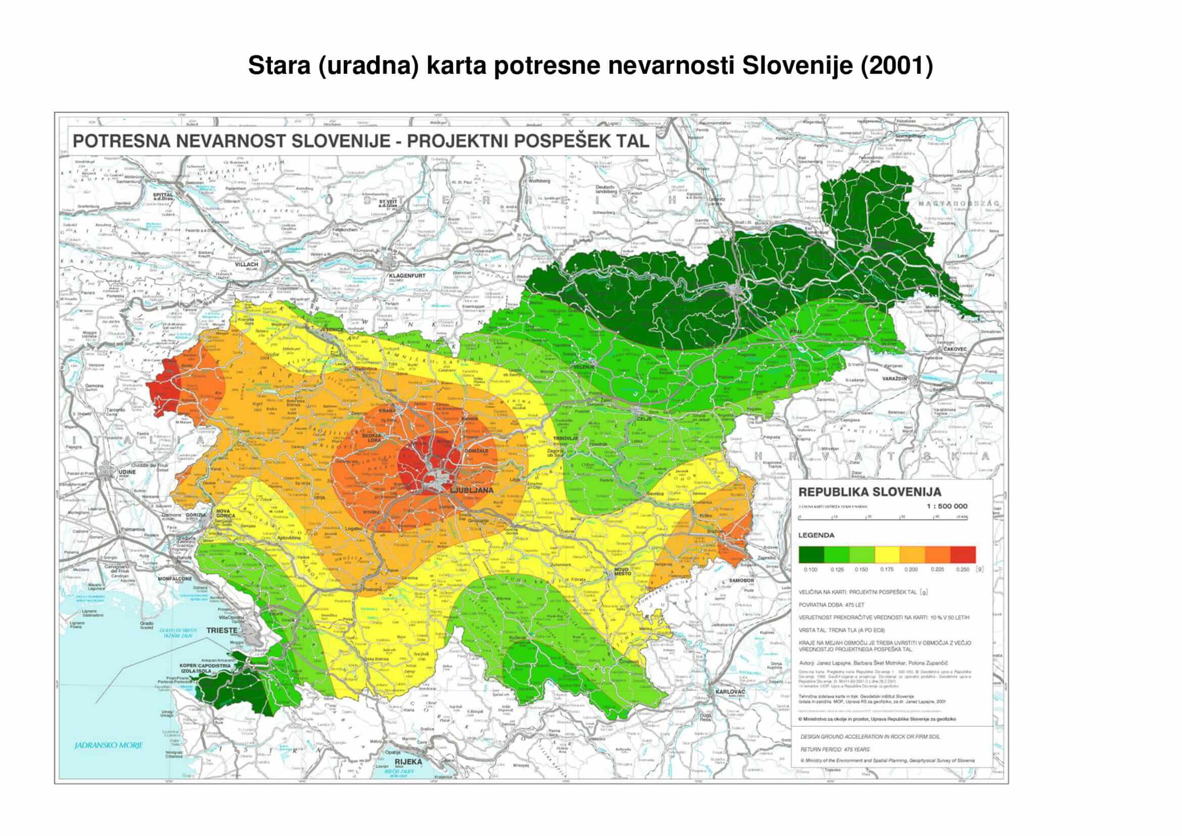 Kaj bi se zgodilo, če bi Ljubljano stresel močan potres?