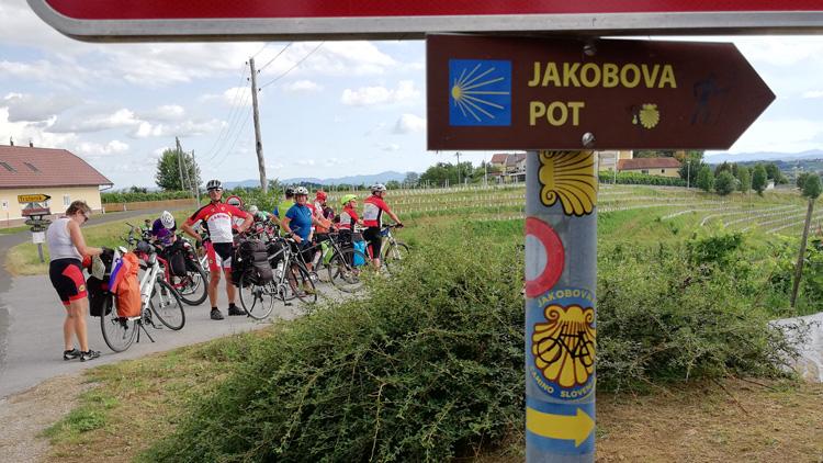 Slovenska Jakobova pot s kolesom? Da!