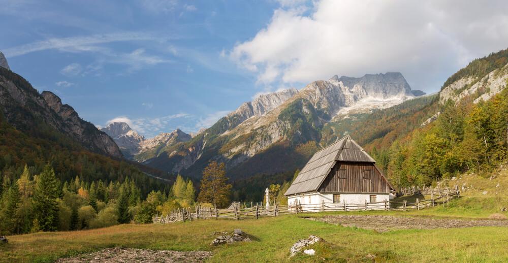 Dolina Trente kot navidh za razstavo Your Alps