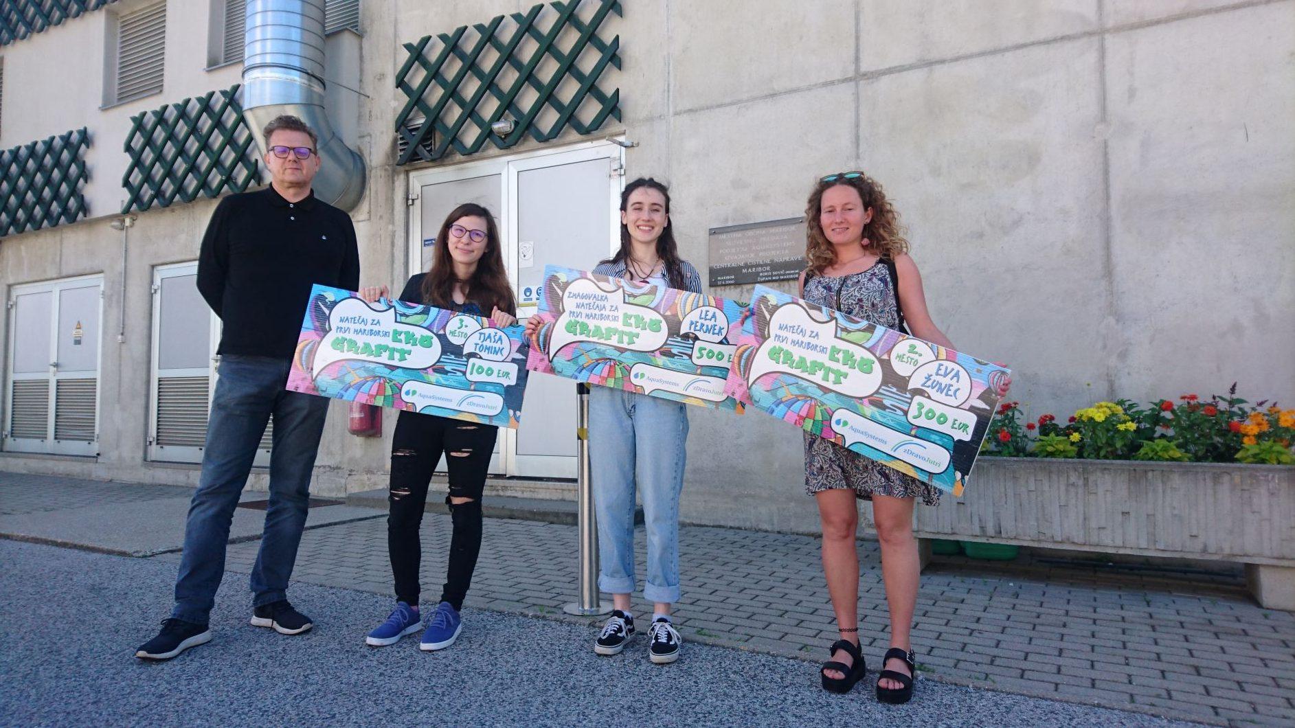 Z natečajem izbrali prvi EKO grafit za Maribor