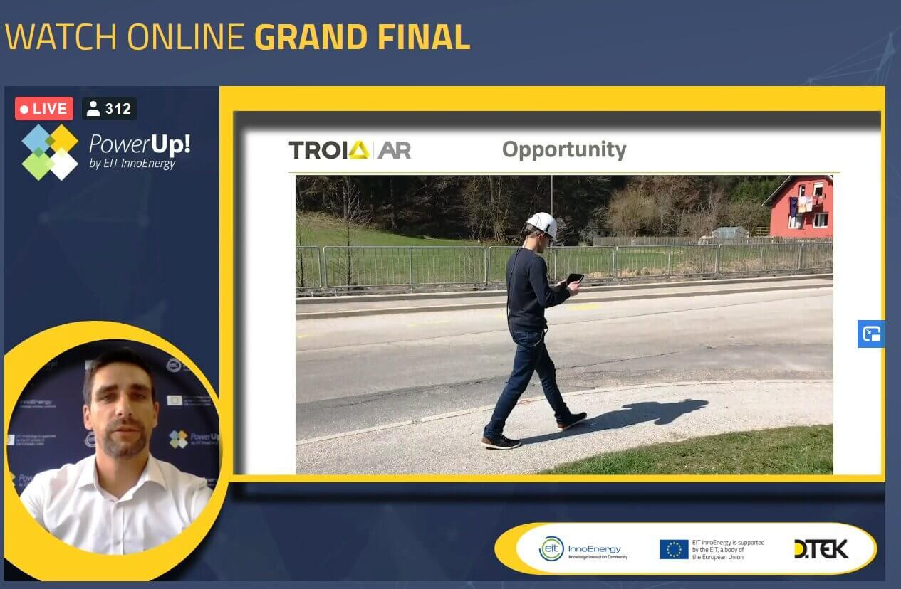 Slovenski startup Troia med zmagovalci evropskega izziva PowerUp