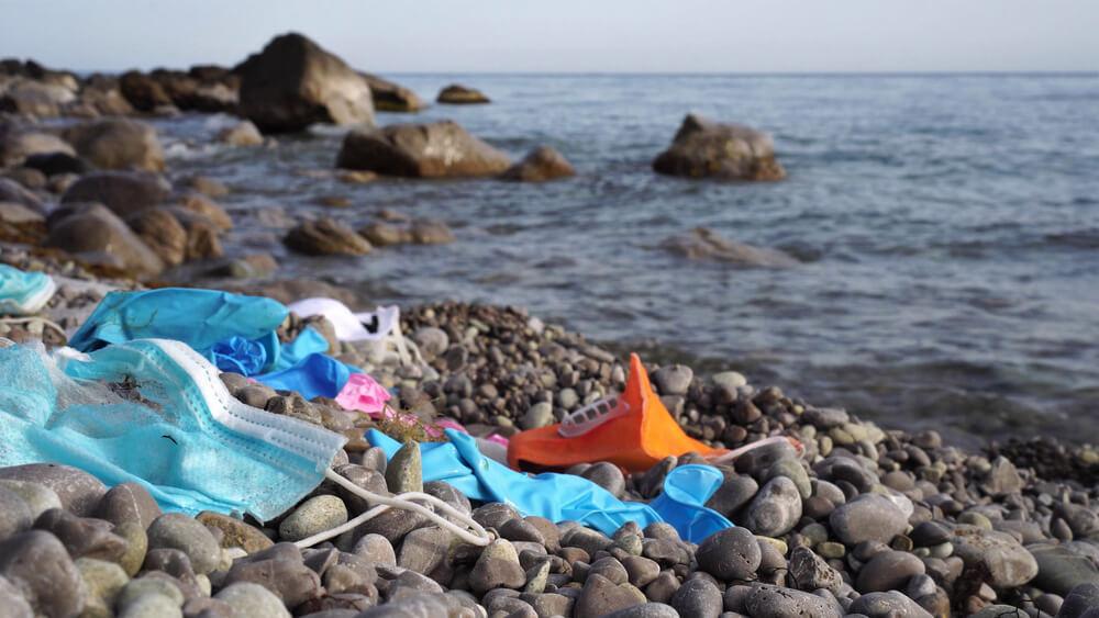 Covid odpadki že pristali v morjih