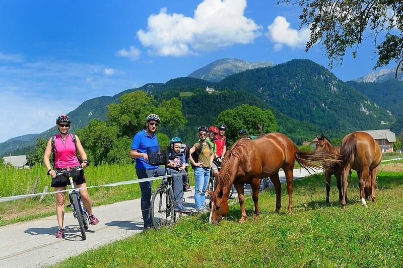 Prihaja nova kolesarska steza od Radovljice do Lesc.