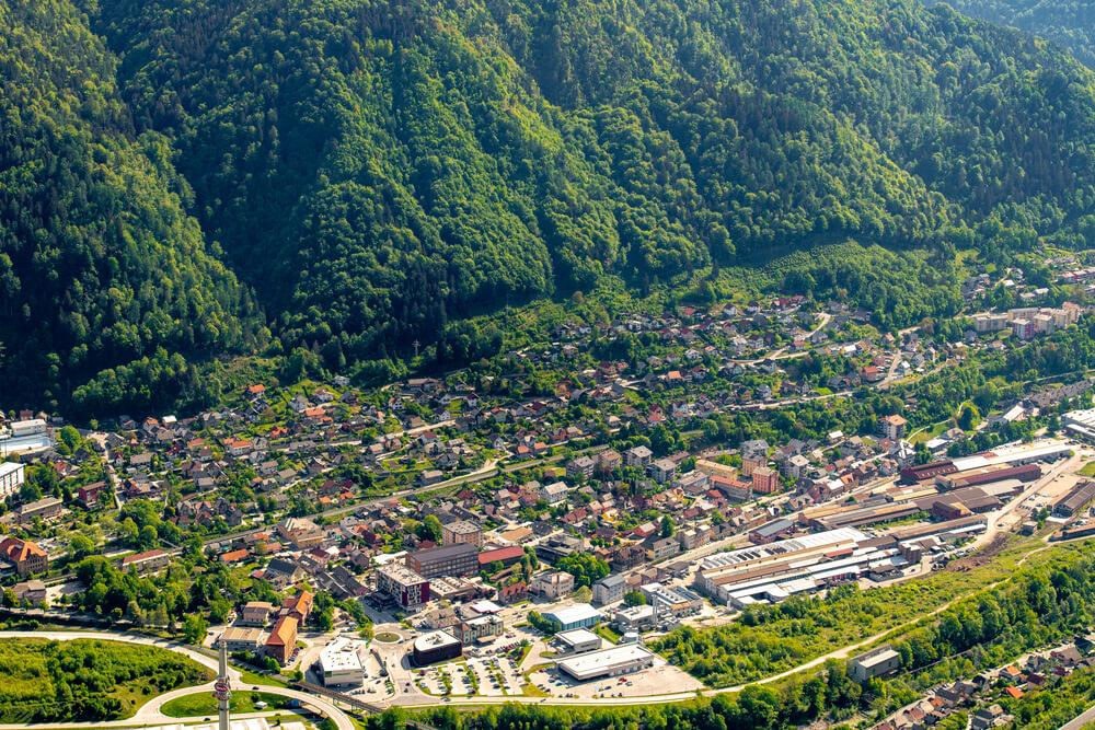 Evropska sredstva za gradnjo komunalne infrastrukture poslovne cone Jesenice