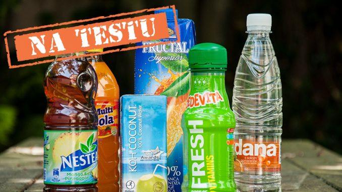 Priljubljene osvežilne pijače – na testu