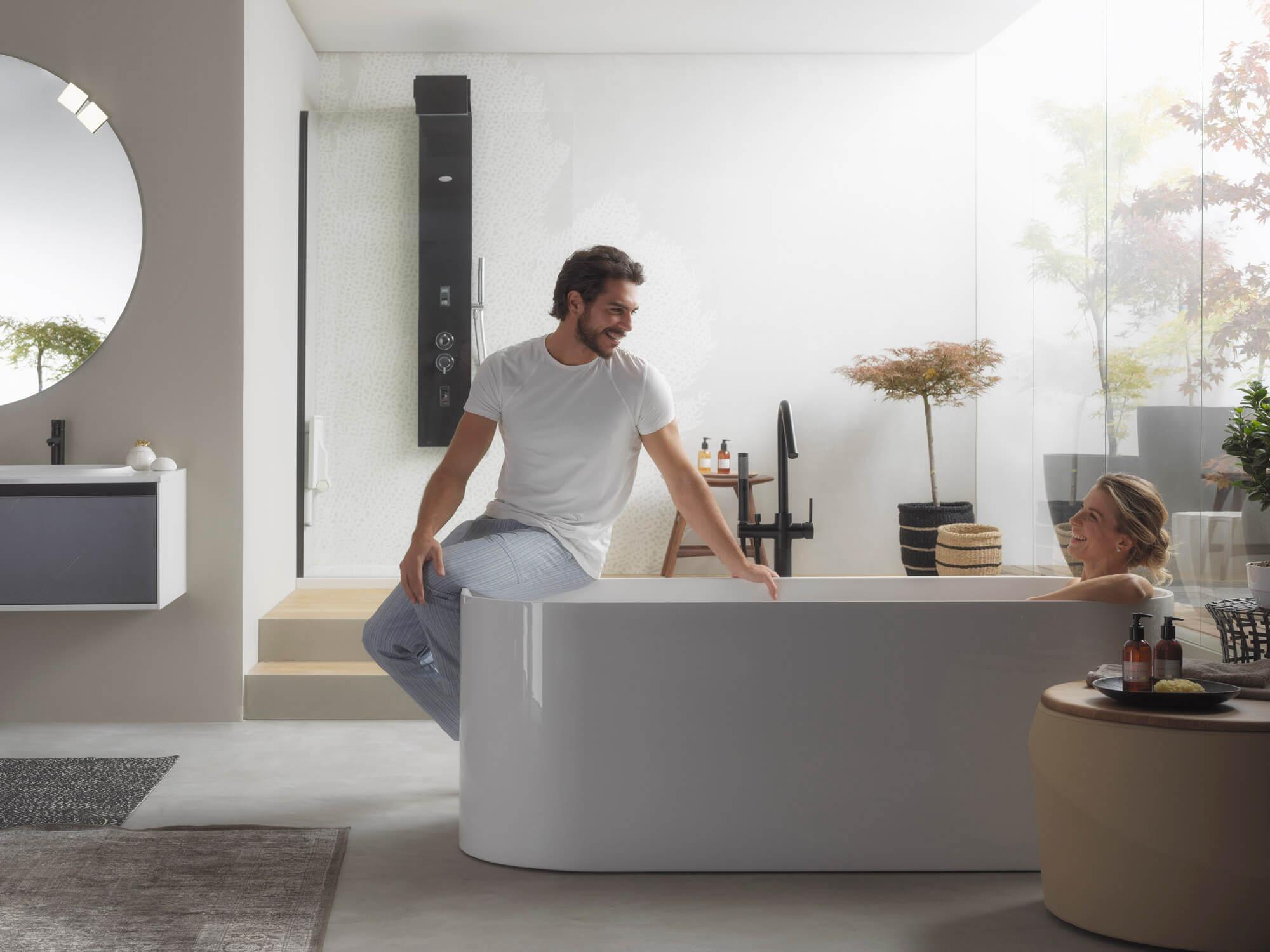 Razvajanje v objemu domače kopalnice