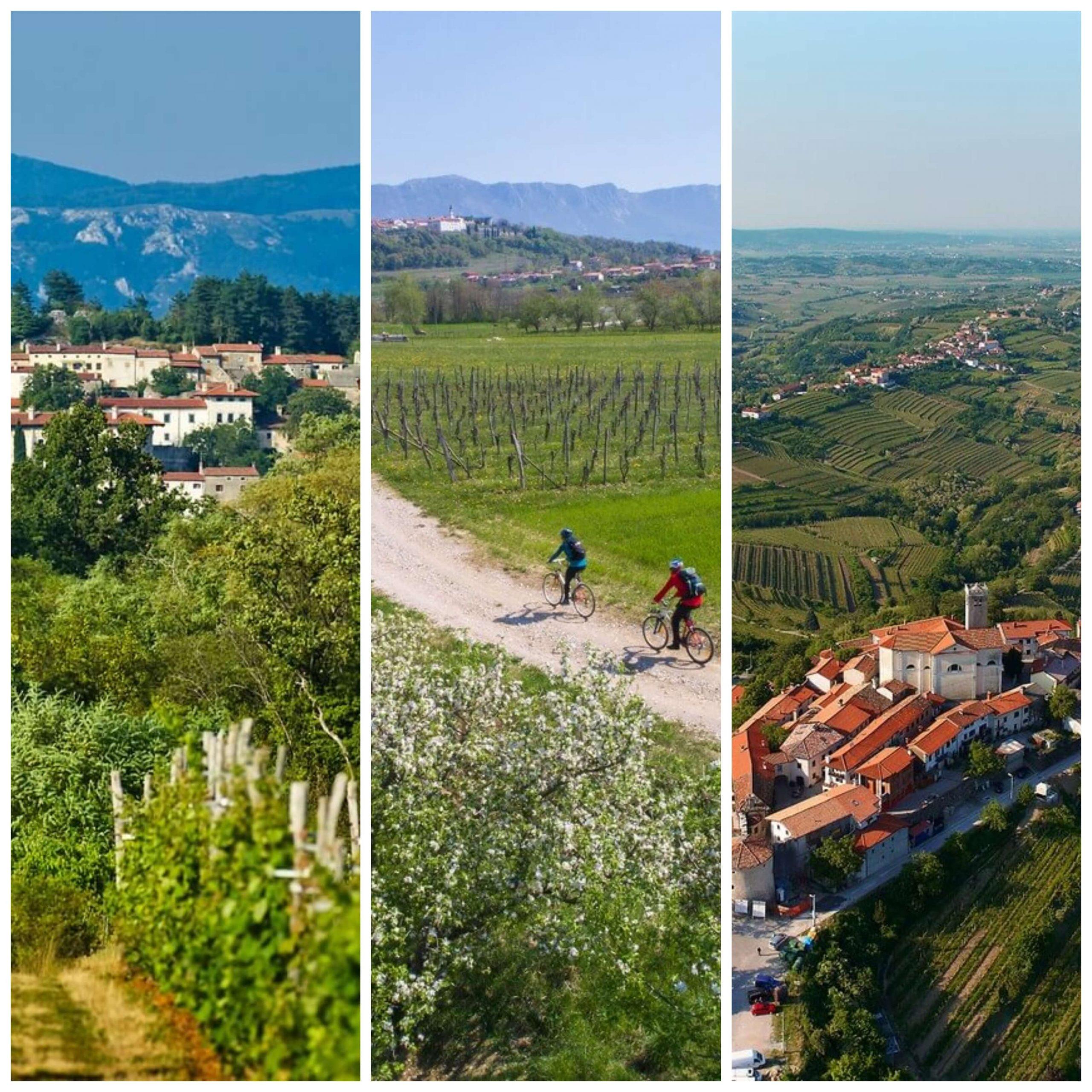 Brda, Vipavska dolina, Kras - z novo skupno turistično zgodbo