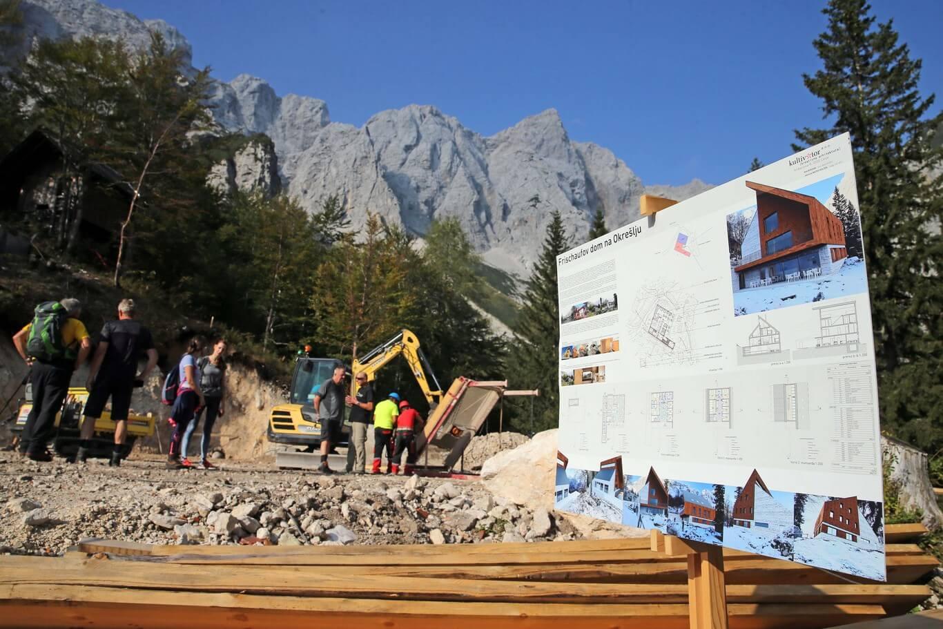 Okrešelj: položili so temeljni kamen za nov dom