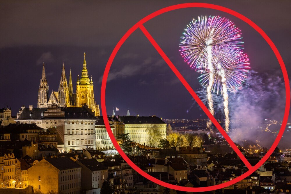 Praga bo v novo leto vstopila brez ognjemeta