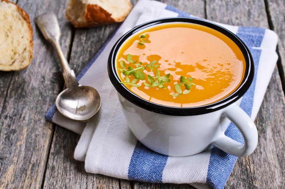 Bučna juha s posebnim trikom