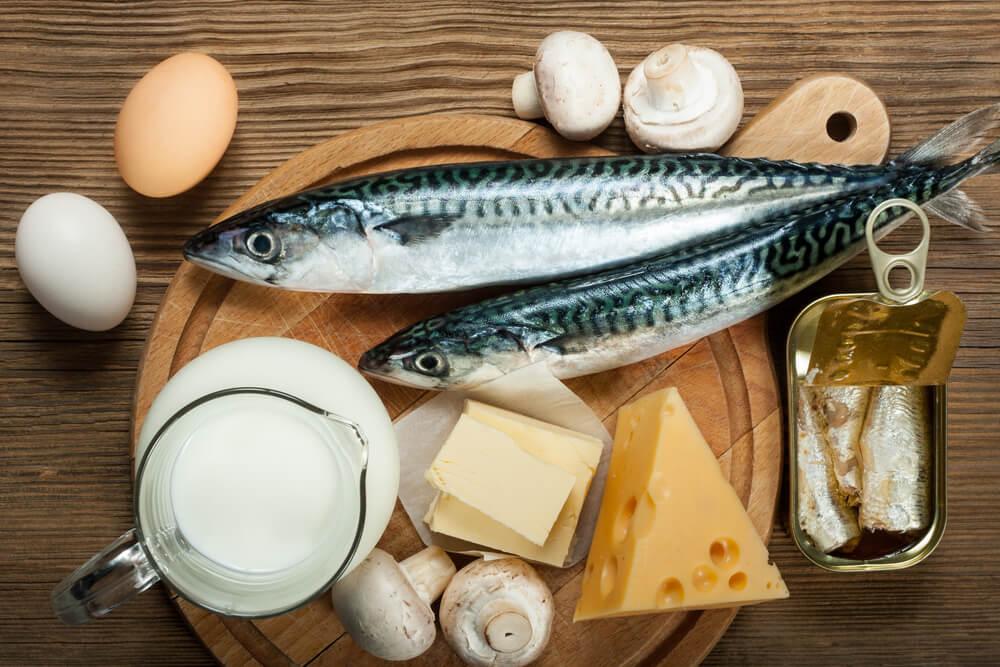 V kateri hrani najdemo vitamin D?