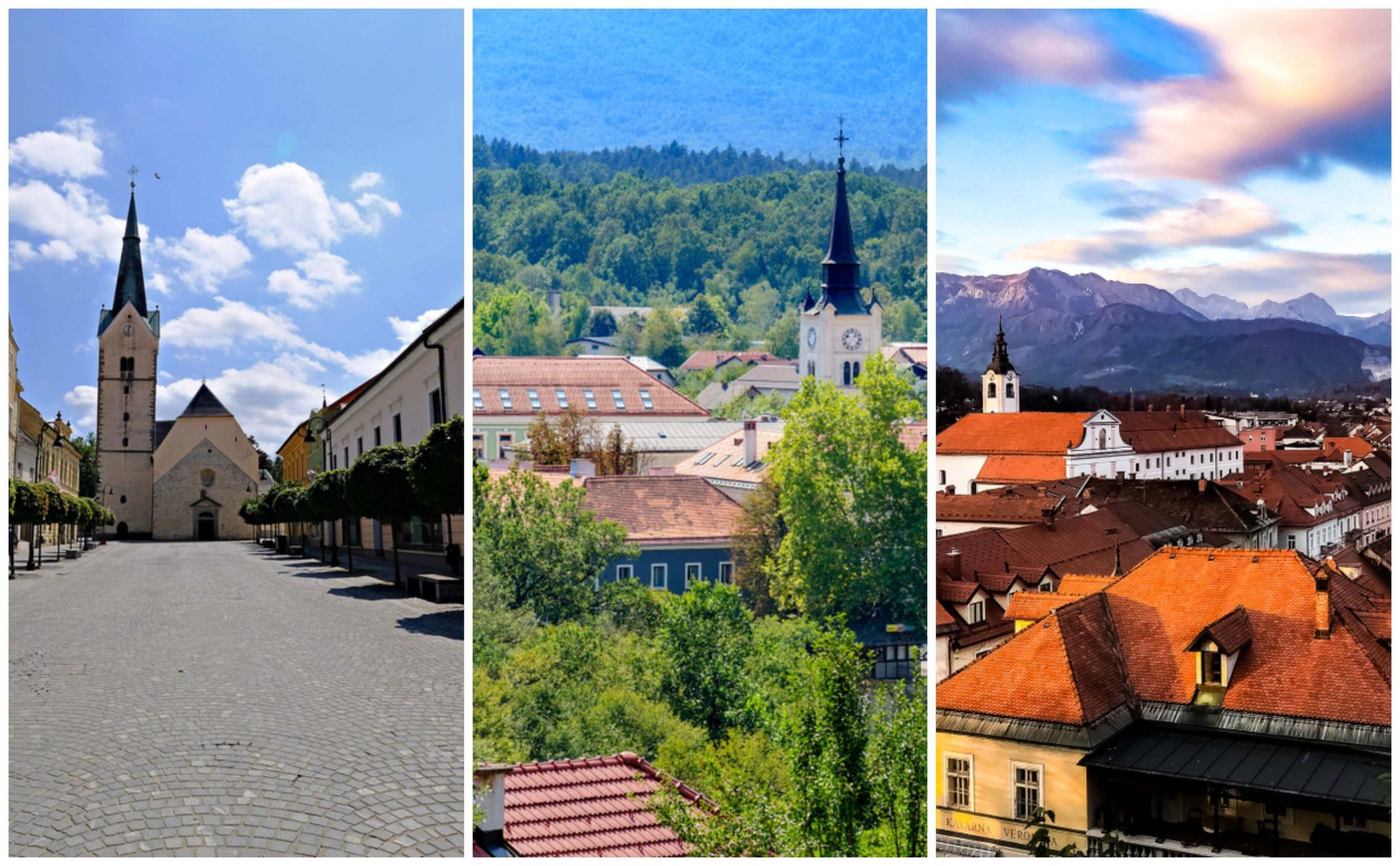 Najlepša mestna jedra: Črnomelj, Kamnik, Slovenj Gradec