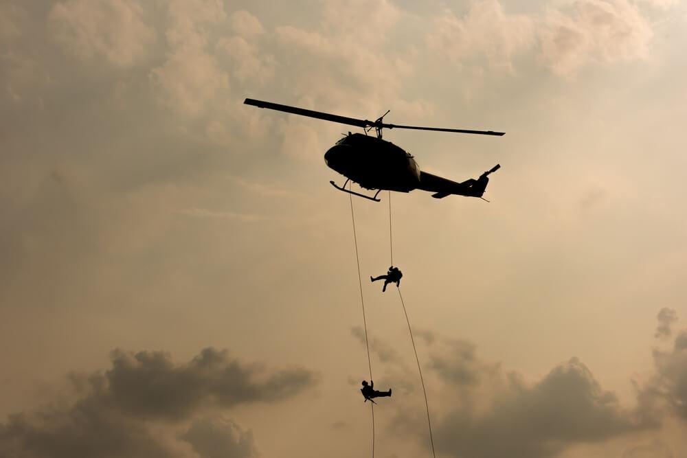 Helikopterji Slovenske vojske septembra  82-krat poleteli na pomoč