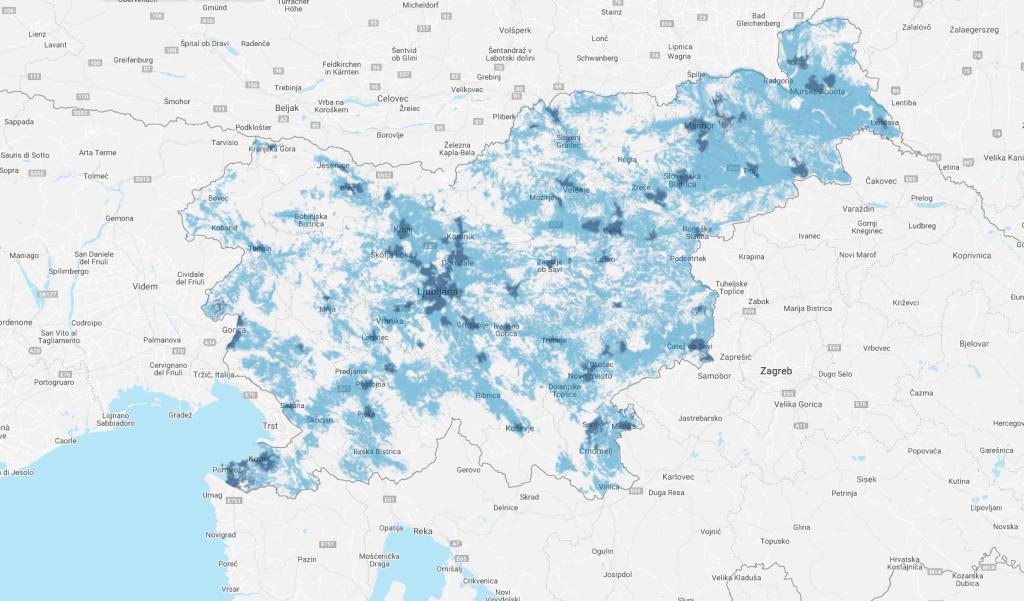 5G pokritost v Sloveniji že več kot 30 %