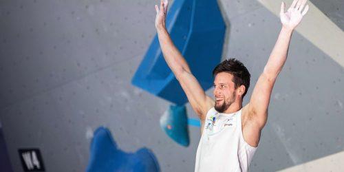 Jernej Kruder evropski prvak v balvanskem plezanju