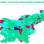 Kakšna je pokritost slovenskih občin z internetom?