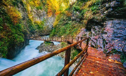 Občina Bled sanirala pešpot v sotesko Vintgar
