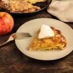 Slastna jabolčna krostata, ki je popolnoma nezahtevna za pripravo!