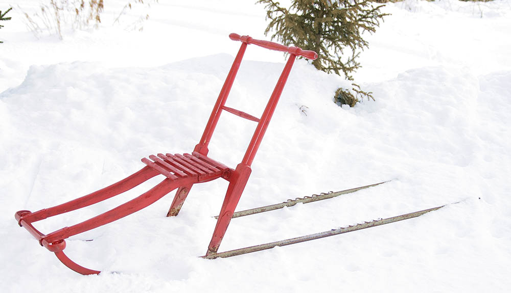 Na sneg s pohodnimi sanmi - za vse generacije