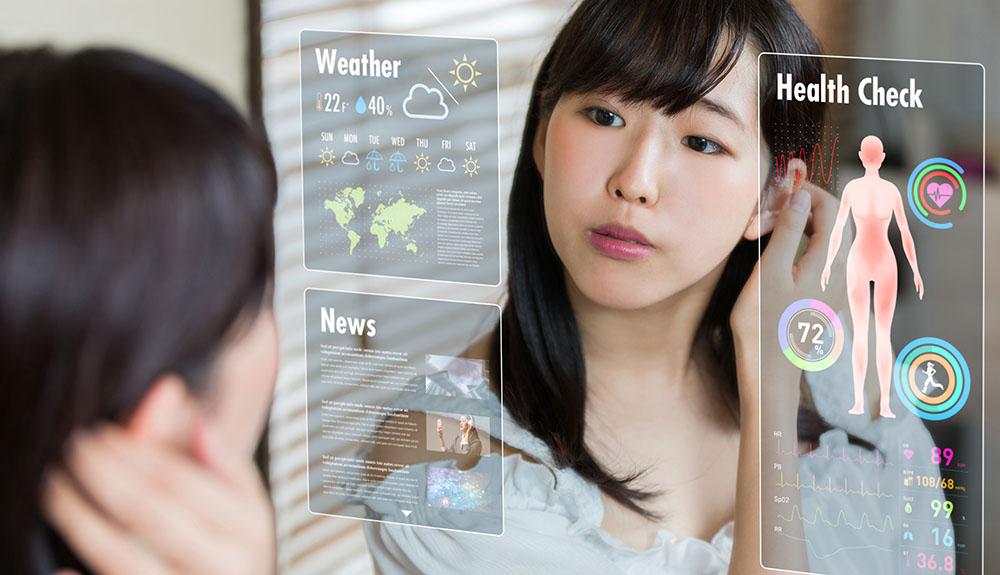 V pametnih hišah bomo lahko na daljavo preverjali tudi zdravje