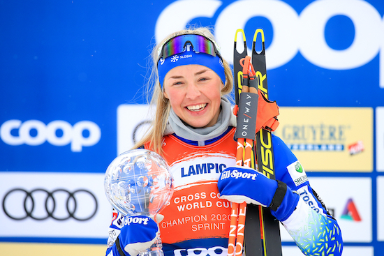 Najboljša šprinterka sezone 2020/21 je Anamarija Lampič!