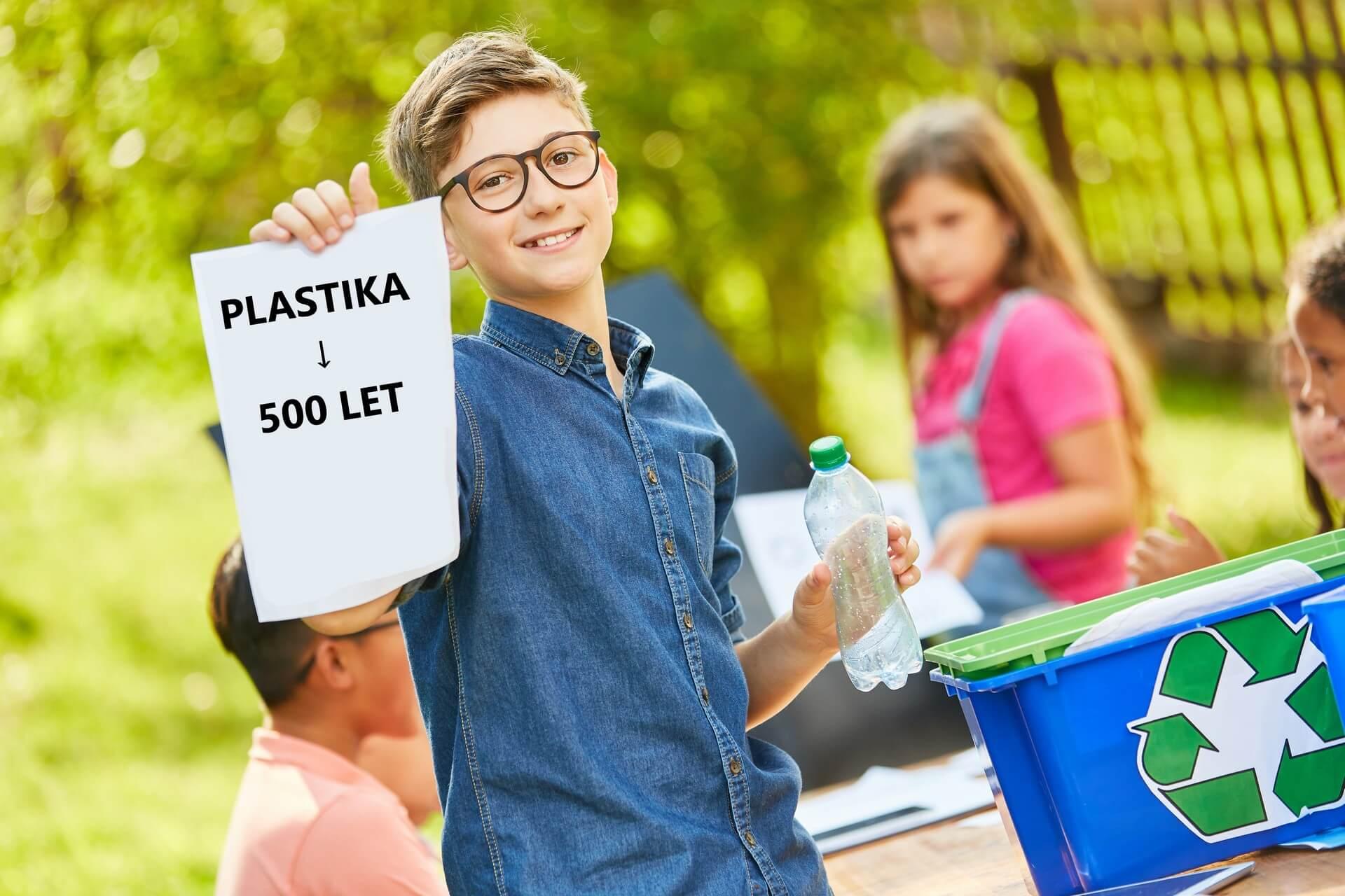 Slovenski otroci na misiji proti plastičnemu onesnaževanju