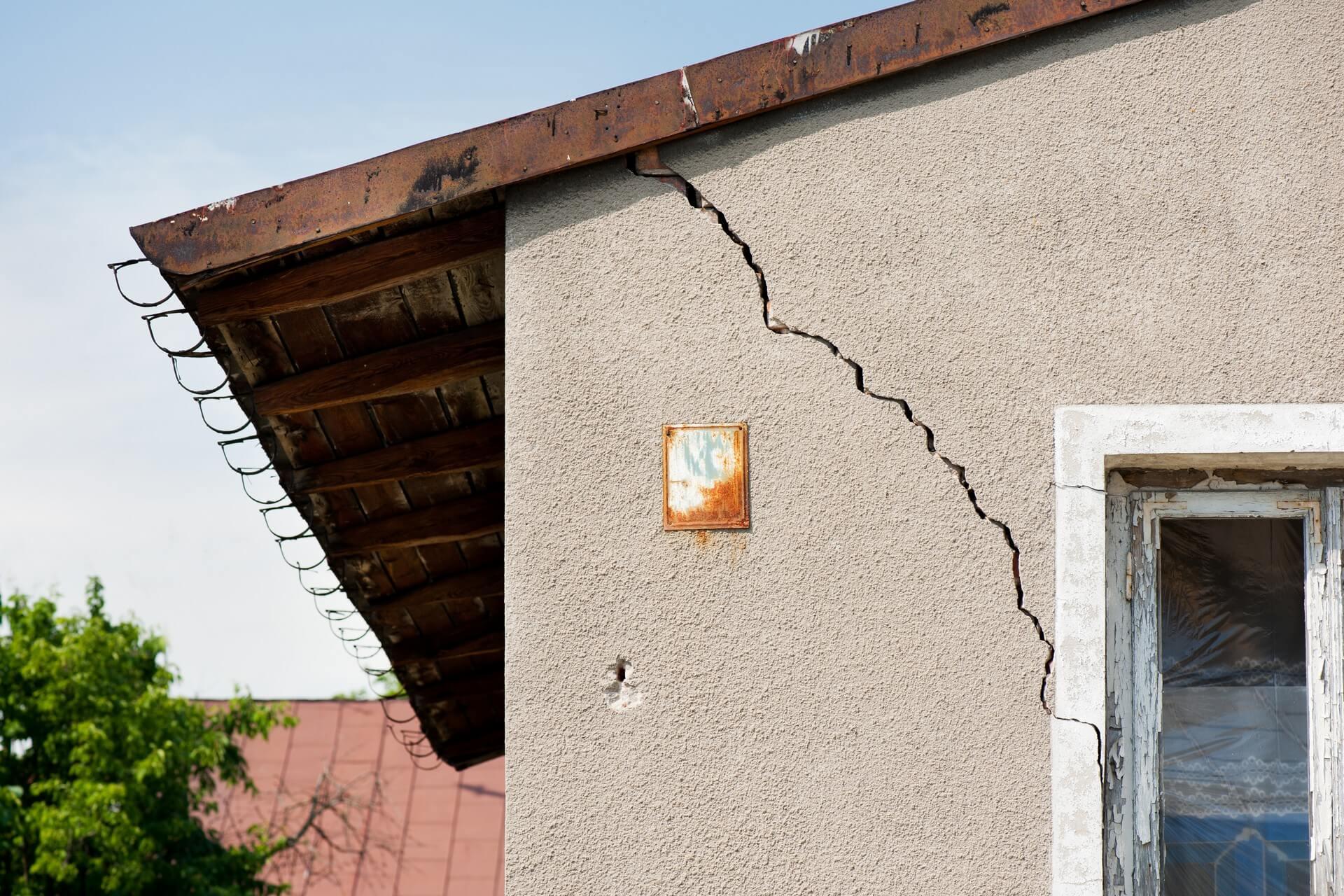 Obnove objektov po naravnih nesrečah: škoda odvisna od načina gradnje