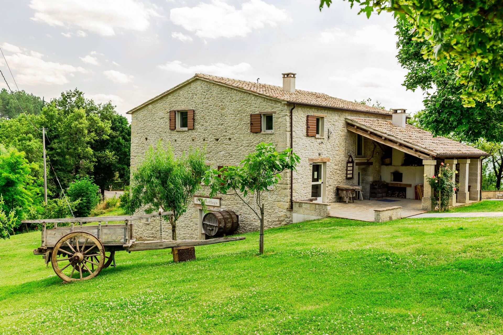 Italijansko podeželje vabi - plačajo vam polovico najemnine