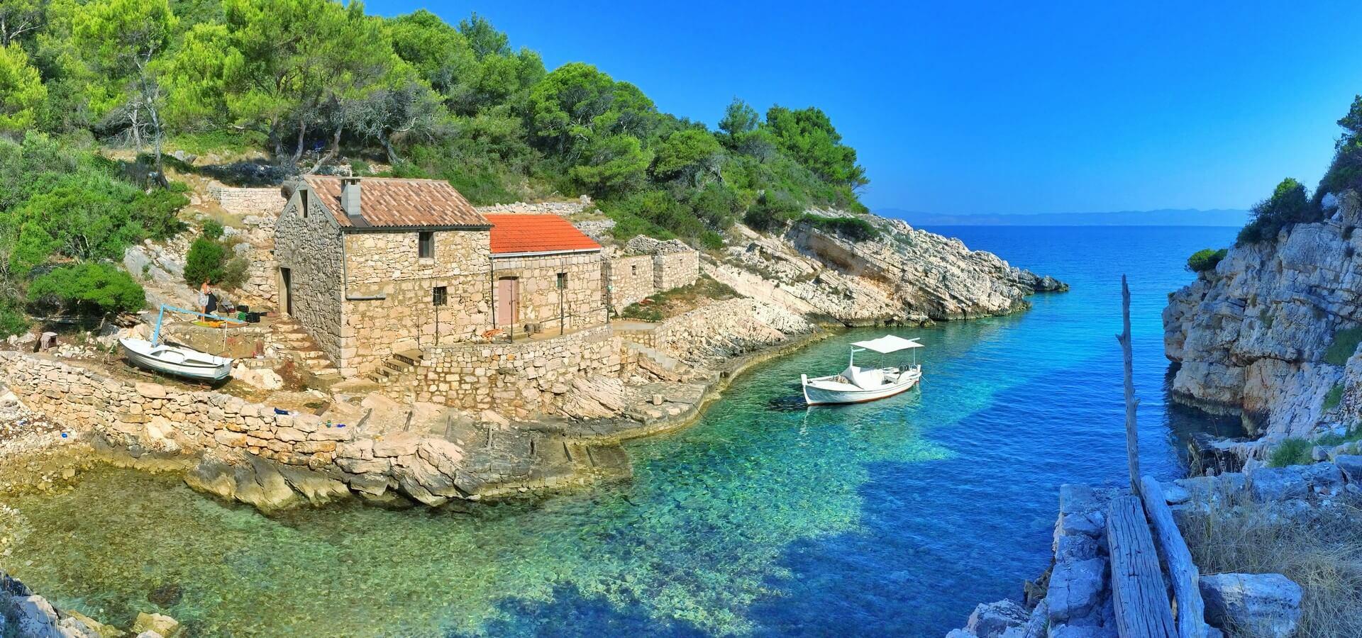 Kje na Hrvaškem lahko kupite hišo za 1 kuno?