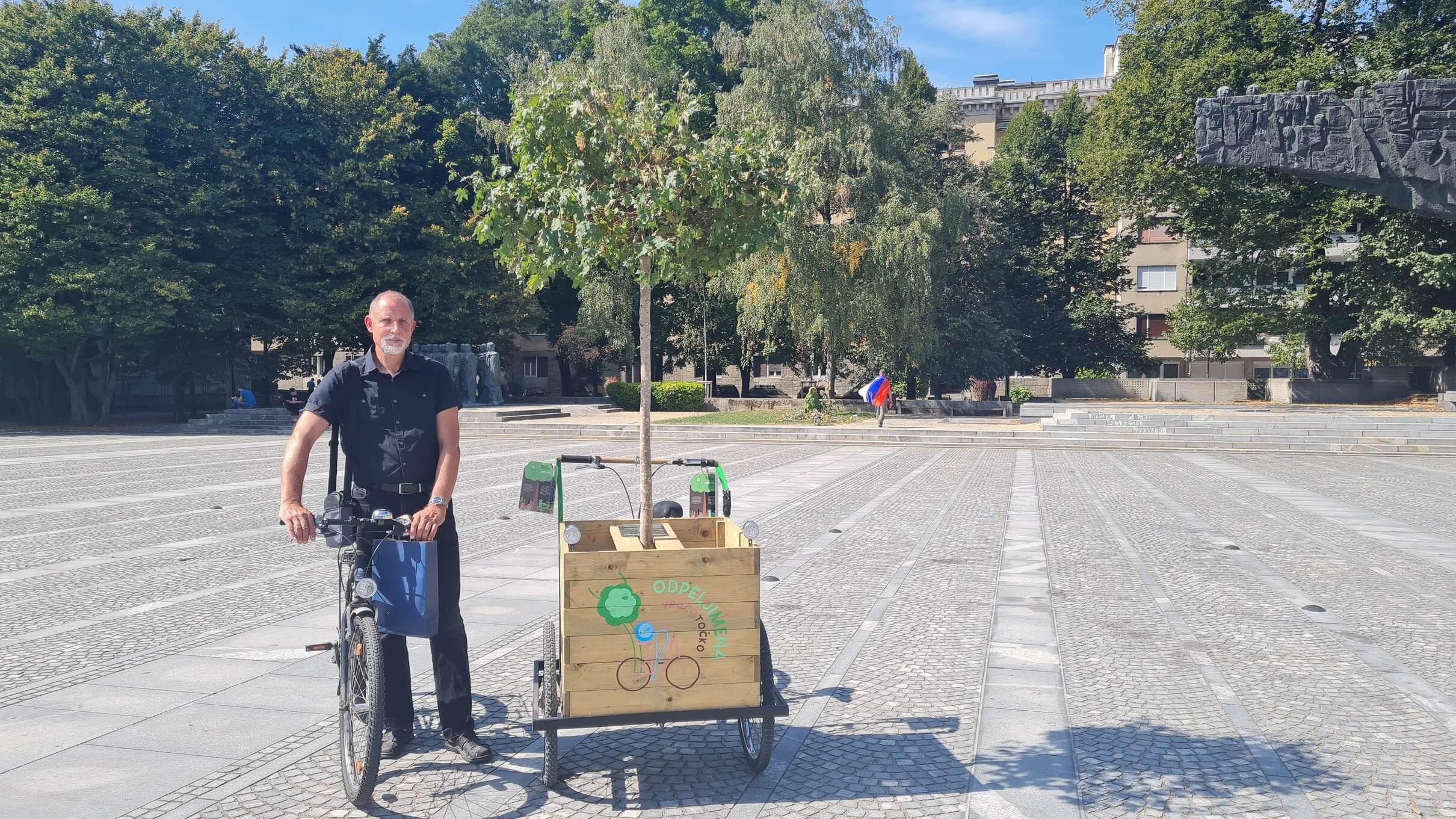 Poziv Ljubljani: ozelenite pobetonirane točke v mestu